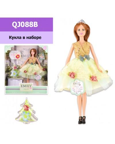"""Кукла """"Emily"""" QJ088B с аксессуарами, р-р куклы - 29 см, в кор. 28.5*6.5*32.5 см"""