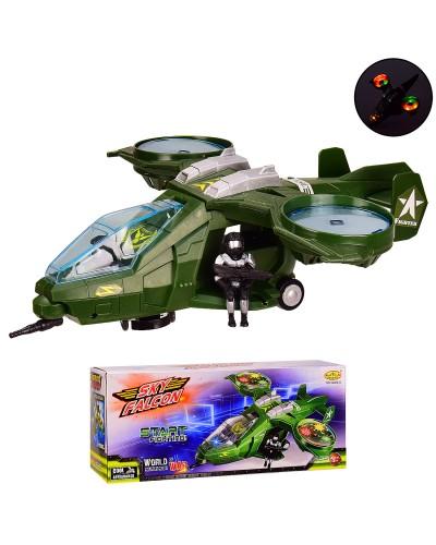 Вертолет батар. 16286-B 3D свет., в кор. 34*10*14см