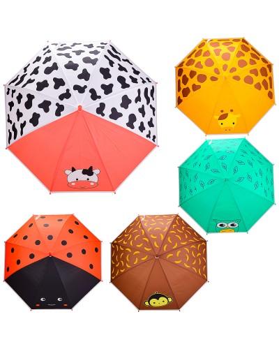 Зонт детский UM5210  5 видов, R=50 см