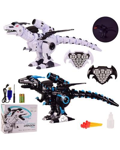 Животное аккум на р/у K600-20  Динозавр, 2 цвета, пульт, свет, звук, в кор. 38*18.5*33.5 см