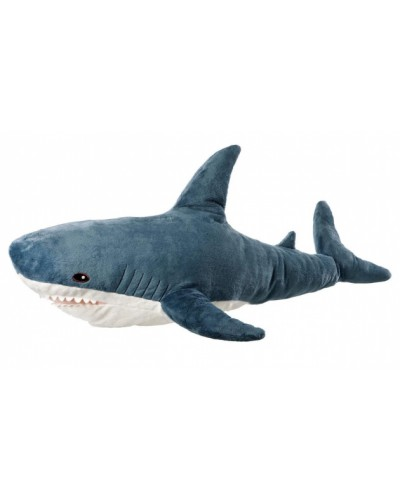 Мягкая игрушка M1091 акула, 57 см
