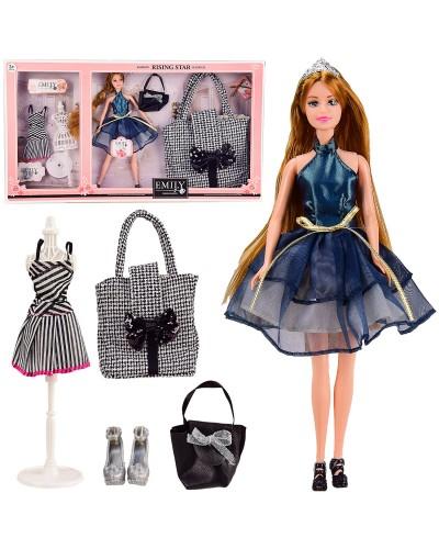 "Кукла  ""Emily"" QJ096A с сумочкой для ребенка,р-р куклы - 29 см, в кор. 60*6,5*33 см"