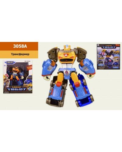 Трансформер 3058A в кор. 24*10*28 см, р-р игрушки-14*5.5*18 см