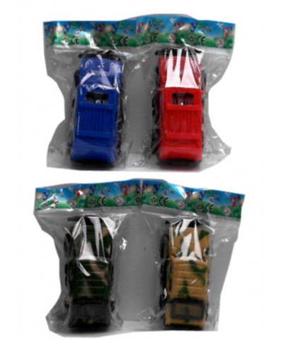 Машина 166/189 2 вида, 2 цвета, в пакете 5*10см