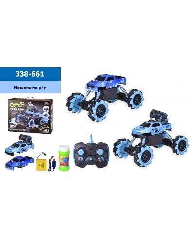 Машина аккум р/у 338-661 в кор. 41.5*12,5*31,5 см, р-р игрушки – 30*18*21 см