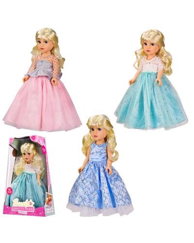 Кукла  PL-520-1806N 3 вида, озвуч.укр.яз., кукла 45 см, в коробке 33*13*51 см