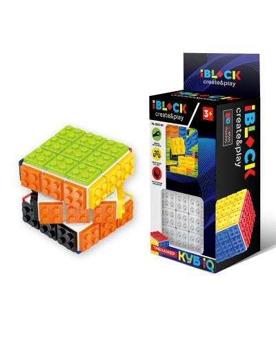 Кубик логика-конструктор iblock PL-920-51 в коробке 23*10*6,5 см