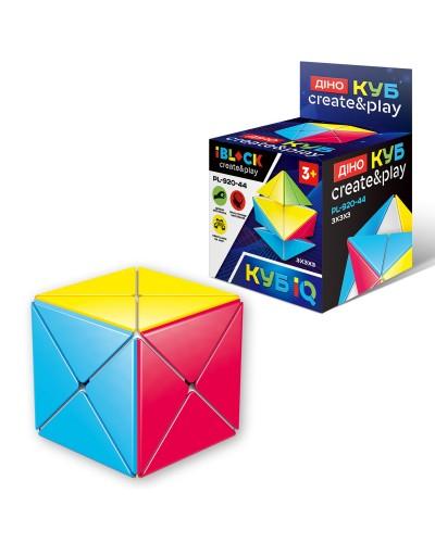 Кубик логика iblock PL-920-44 в коробке 9*6*6 см