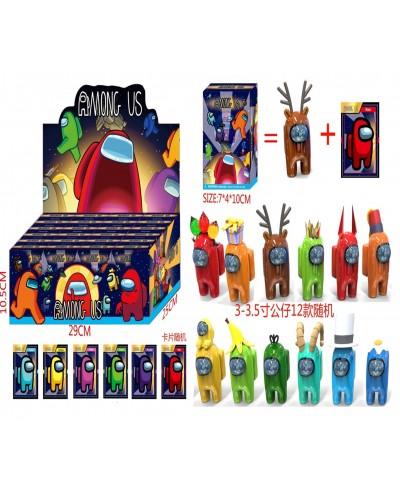 Игрушка DS2434 герои 3-3,5' + 1 карточки в коробке 7*4*10 см, 12 видов, 24 шт в дисплей боксе 29*25*