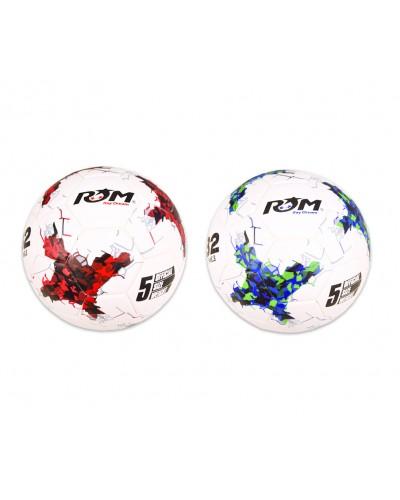 Мяч футбол F33466 №5, TPU, 400 грамм, 2 цвета