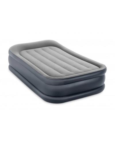 Кровать велюр 64132 со встроенным насосом (220-240В) в кор. 99*191*42см