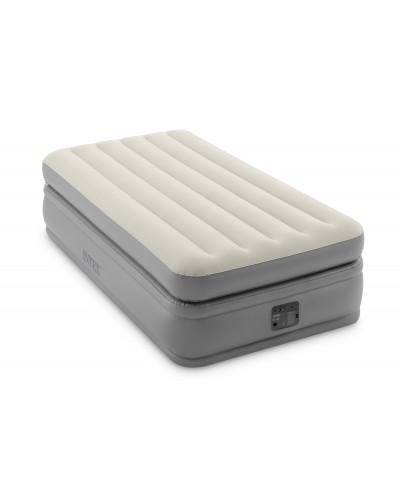 Кровать велюр 64162 Prime Comfort Elevated со встроенным насосом 99*191*51 см
