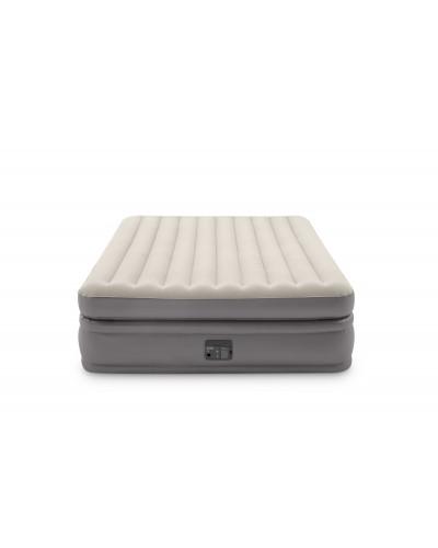 Кровать велюр 64164 Prime Comfort Elevated со встроенным насосом 152*203*51 см