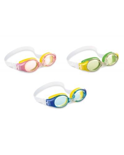 Очки 55601 гипоалергенный, поливинил, 3 цвета, (3-10лет) 15см