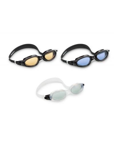 Очки 55692 для плавания 3 цвета, 59 см