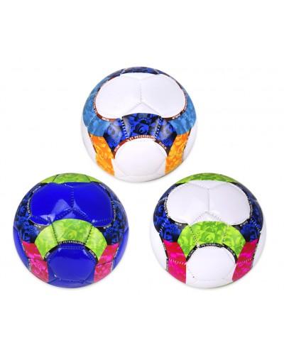 Мяч футбол E31209  №2, PVC, 100 грамм, 3 цвета