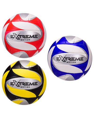 Мяч волейбольный VB2121 Extreme Motion, PU, 280 грамм, MIX 3 цвета, сетка+игла в компл.