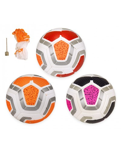 Мяч футбольный BF011 №5 PU, 400 грамм, цветной, 3 цвета