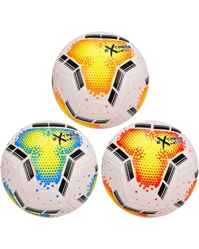 Мяч футбольный CY20984 Extreme Motion, № 5, TPE, 420 грамм, MIX 3 цвета