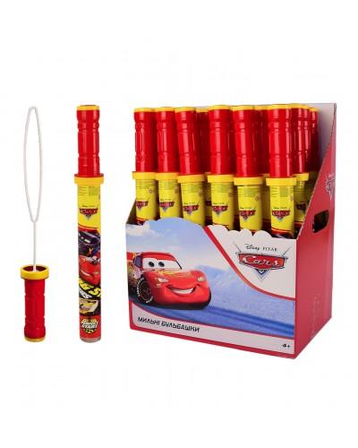 Мыльные пузыри KC-0060 Cars 160 мл. 24 шт в блоке, 4 блока в ящике, цена за 1 шт, упак. – 28*19*35.5
