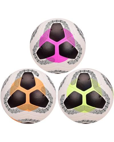 Мяч футбол FB2042 размер 5, 420 грамм, 3 цвета микс