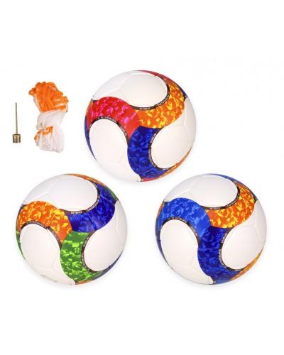 Мяч футбольный BF012 №5 PU, 400 грамм, MIX 3 цвета