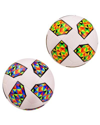 Мяч футбольный CY20910 №5, PU, 420 грамм, MIX 2 цвета