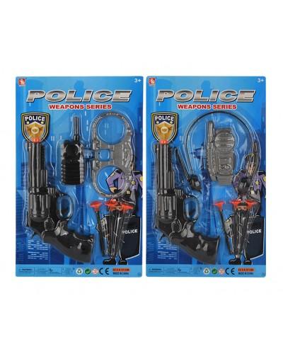 Полицейский набор 34-6 2 вида, на планш. 23,3*37*4см
