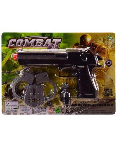 Полицейский набор 206K-20 на планш. – 29*2.5*21 см, р-р игрушки – 23 см