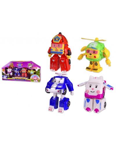 Трансформер 378C 4 вида в наборе, в кор. 53*9*26.5 см, р-р игрушки – 11*5*13 см