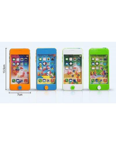 Водная игра в колечки HT958R телефон, 4 цвета, в пакете 7*13,5см