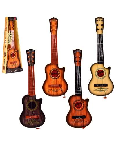 Гитара 180C11/12/13/14 4 вида, с медиатором, р-р игрушки -18*6, 5*55 см, в коробке 22*8*60 см