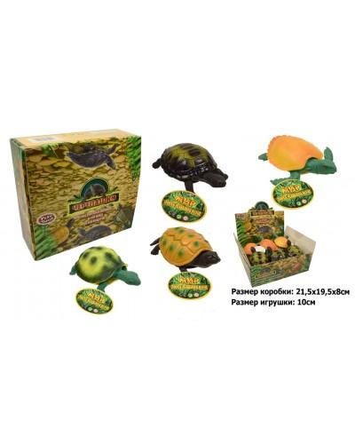 """Животные резиновые-тянучки 7219 """"Черепашки"""", в боксе 21, 5*19, 5*8см, игрушка-10см, в боксе 12шт"""
