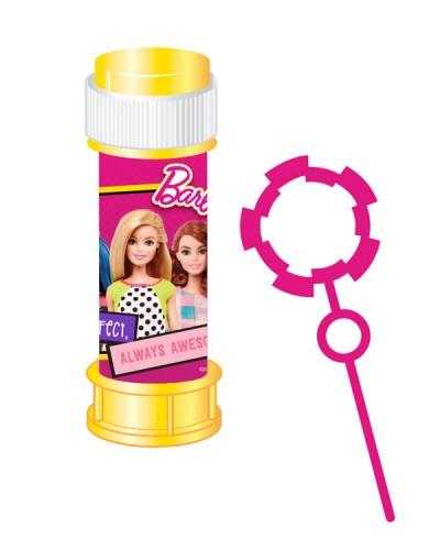Мыльные пузыри KC-0073 Barbie цена за 1шт, по 36 шт в коробке, 60 мл, р-р упаковки – 23.5*24*11.5 см