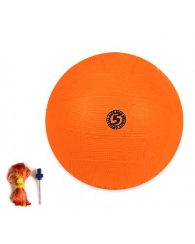 Мяч баскетбольный BB20148 № 5, резиновый, 417 грамм, оранжевый