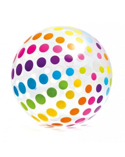 Мяч надувн. 59065 6-ти цветн. (3+ лет) 107см