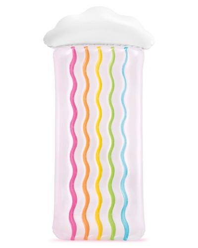 Надувной матрас 56804 Rainbow Cloud Mat 198*91 см