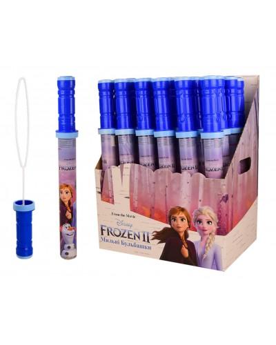 Мыльные пузыри KC-0062 Frozen 160 мл. 24 шт в блоке, 4 блока в ящике, цена за 1 шт, упак. – 28*19*35