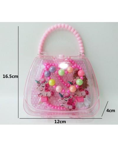 Аксессуары для девочек AH068-1 в сумочке 16,5*12*4 см
