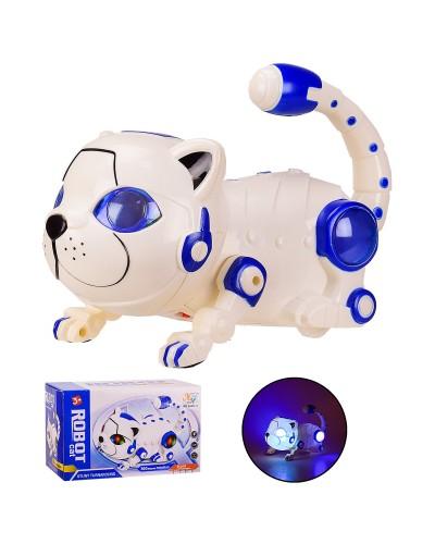 Животное 5688-11 Кошка, батар, свет, звук, кувыркается, в коробке  21*12*12.5 см