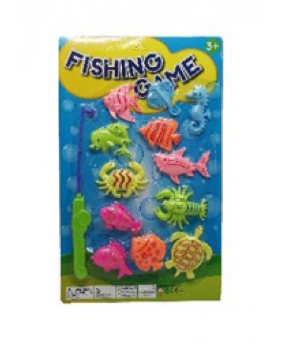 Рыбалка 992 магнит, удочка, рыбки, на планшетке 49*3*30см