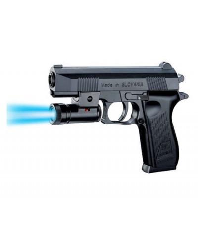 Пистолет K2119-C+ пульки, свет, в пакете 22,5*15 см