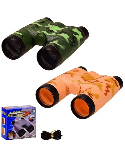 Бинокль 316E 2 цвета, в кор.  – 13*5.5*12.5 см, р-р игрушки – 11.5*4*12.5 см