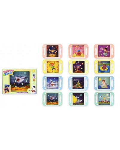 Логика -баланс 61A08 12 видов, р-р игрушки - 20*14.5*1.5, в коробке 20*14.5*1.8 см