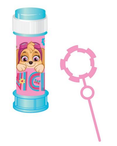 Мыльные пузыри KC-0070 Щенячий Патруль розовый цена за 1шт, по 36 шт в коробке, 60 мл