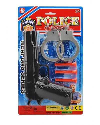 Полицейский набор 2323-21A на планш. 19*31,5*4см
