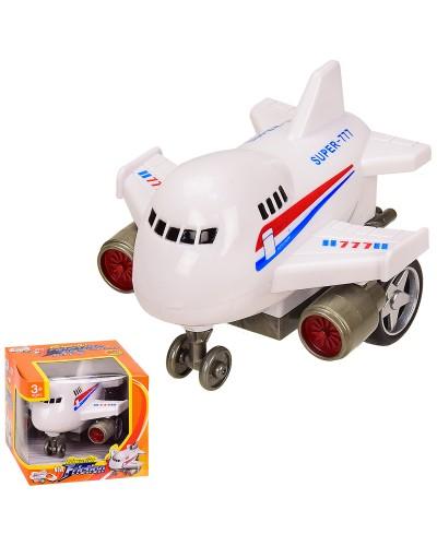 Самолет инерц. 777 в кор. 10*10*9 см, р-р игрушки – 10*9.5*7.5 см