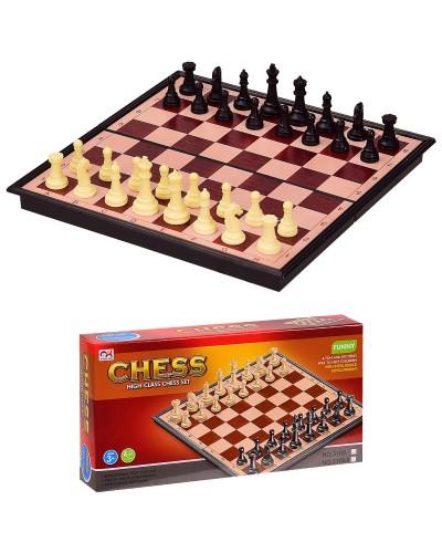 Шахматы магнитные 3108 в кор. 18*3*9 см, р-р игрушки – 18*18*1.5 см