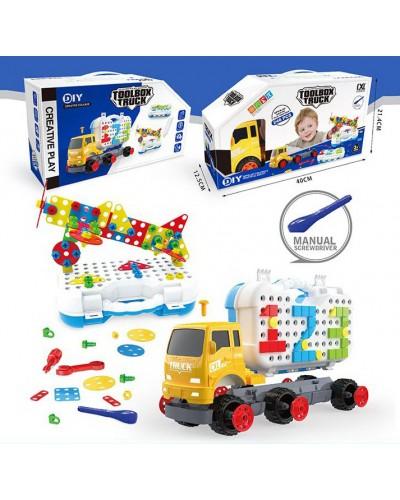 """Игра """"Магические пластины"""" CXL200-63 3в1-плоские+объемные, машина-грузовик, в коробке 40*12, 5*21, 4"""