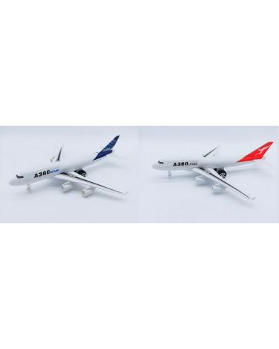 Самолет инерц. A380-37/38 2 цвета, в пакете 30*28*10см